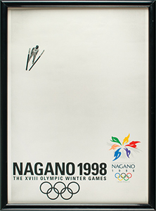 Nagano 1998 Winter Olympics Group of (4) Posters