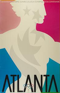 Atlanta 1996 Summer Olympics Poster