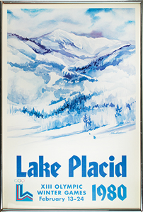 Lake Placid 1980 Winter Olympics Poster
