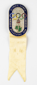Melbourne 1956 Summer Olympics Participation Badge