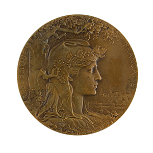 Paris 1900 Exposition Universelle Non-Athletic Award Medal