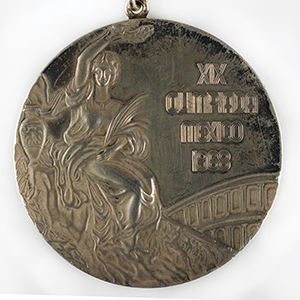 Mexico City 1968 Summer Olympics Gold Winner's Medal