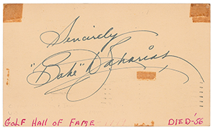 Babe Didrikson Zaharias Signature