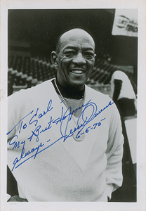 Jesse Owens Signed Photograph
