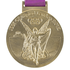 London 2012 Summer Olympics Gold Winner's Medal