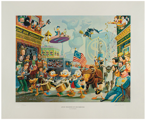 Carl Barks: July Fourth in Duckburg