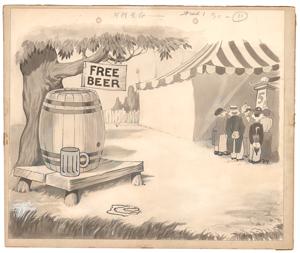 Fairground production background from Those Were Wonderful Days