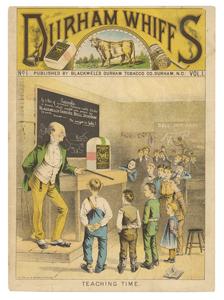 Tobacco: Durham Whiffs Comic Book Advertisement