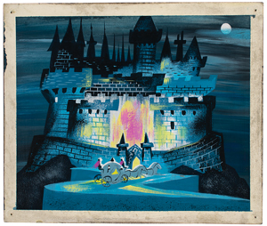 Mary Blair concept painting from Cinderella