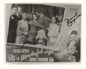 James Stewart and Frank Capra