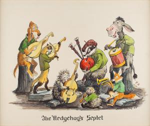 Marc Davis concept artwork for The Hedgehog's Septet