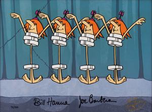 Bill Hanna and Joe Barbera