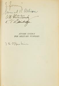 Robert Oppenheimer and Enrico Fermi