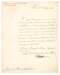 Pierre Louis Jean Casimir de Blacas and Jean-Guillaume, baron Hyde de Neuville