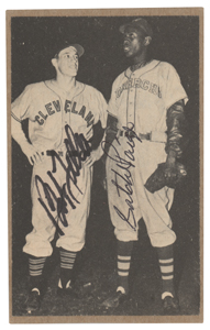 Satchel Paige and Bob Feller