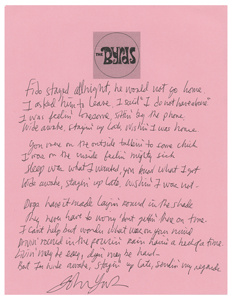 The Byrds: John York