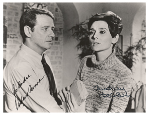 Audrey Hepburn and Richard Crenna
