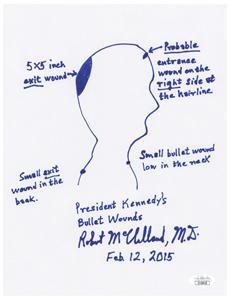 Kennedy Assassination: McClelland, Dr. Robert