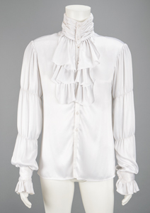 Prince's Screen-Worn 'Purple Rain' Ruffled White Shirt