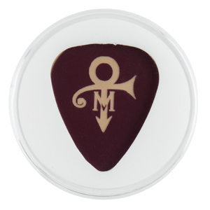 Prince Custom Wedding Guitar Pick