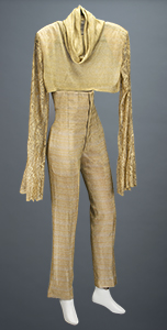 Prince Stage-Worn Gold 'Jam of the Year Tour' Outfit