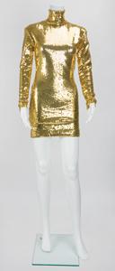 Lady Gaga's Joanne Tour Gold Sequin Dress