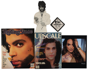 Prince: Mayte Signed Photograph and Ephemera