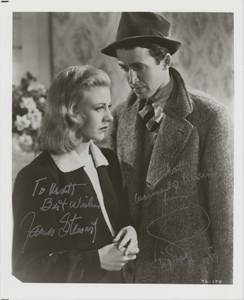 James Stewart and Ginger Rogers
