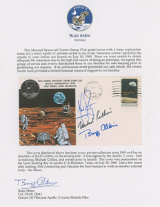 Buzz Aldrin's Apollo 11 'Type 1' Insurance Cover