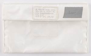 Apollo 15 Flown LM Utility Towel Assembly Bag