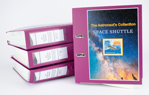 Ernst Messerschmid's Collection of Space Shuttle Covers