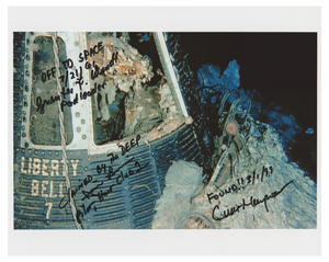 Liberty Bell 7 Recovery Signed Photograph