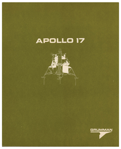 Apollo 17 Grumman Press Kit
