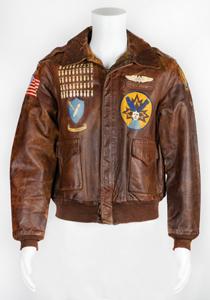 World War II: Henry Baker's B-24 A-2 Flight Jacket and Service Medals