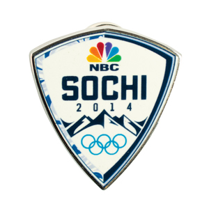 Sochi 2014 Winter Olympics Space Flown Pin