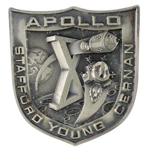 Tom Stafford's Apollo 10 Flown Robbins Medallion