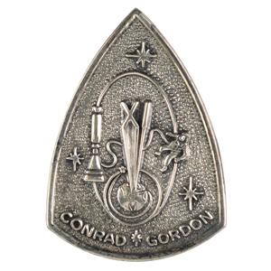 Charles Conrad's Gemini 11 Flown Fliteline Medallion