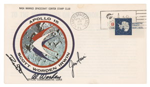 Al Worden's Apollo 15 Insurance Cover