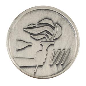 James Lovell's Gemini 7 Flown Fliteline Medallion