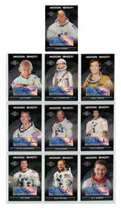 Topps Moon Shot! Single Signers (10) Complete Set