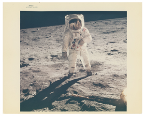 Buzz Aldrin Original 'Type 1' Photograph