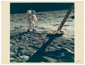 Buzz Aldrin Original 'Type 1' Photograph