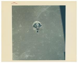 Apollo 11 Original 'Type 1' CSM Columbia Photograph
