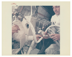 Apollo 13 Original 'Type 1' Photograph