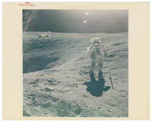 Apollo 16 Original 'Type 1' Photographs (3)