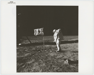 Apollo 11 Original 'Type 1' Photographs (2)