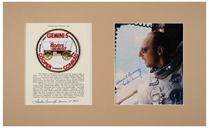 Charles Conrad's Gemini 5 Flown Mission Patch