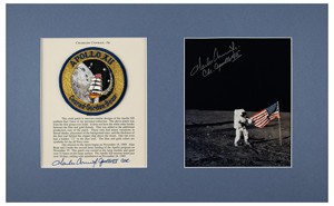 Charles Conrad's Apollo 12 Lunar Flown Mission Patch