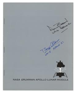 Buzz Aldrin and Alan Bean