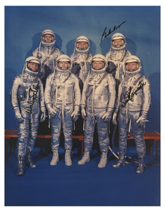 Mercury Astronauts: Carpenter, Cooper, and Schirra